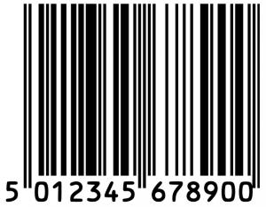 kod kreskowy na produkcie