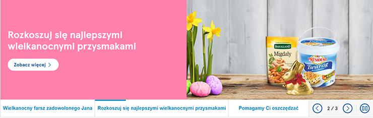 reklama produktów na Wielkanoc