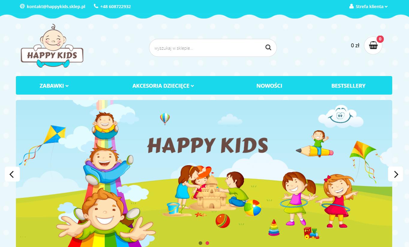 sklep dropshipping Happy Kids
