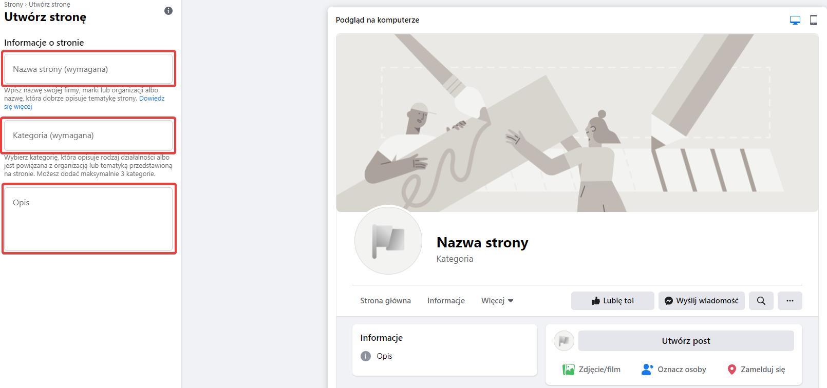 Tworzenie fanpage na Facebooku