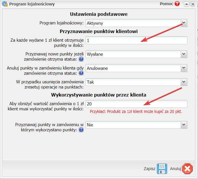 program lojalnościowy w sklepie internetowym na Sky-Shop.pl