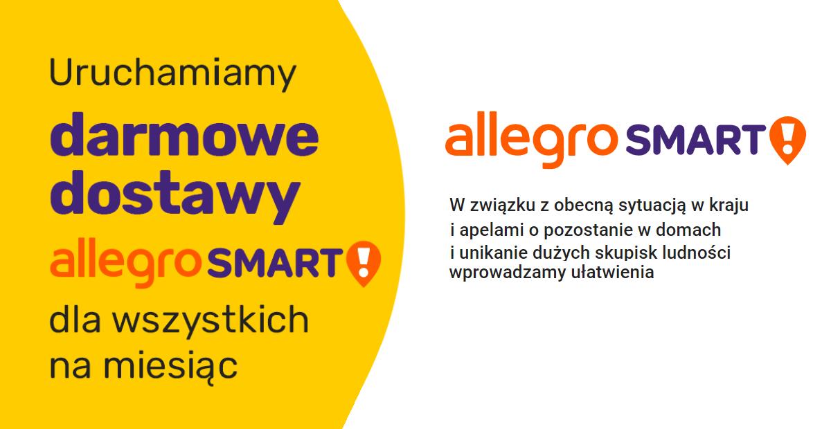 Koronawirus Allegro Smart Za Darmo Dla Wszystkich Kupujacych Blog Sky Shop Pl