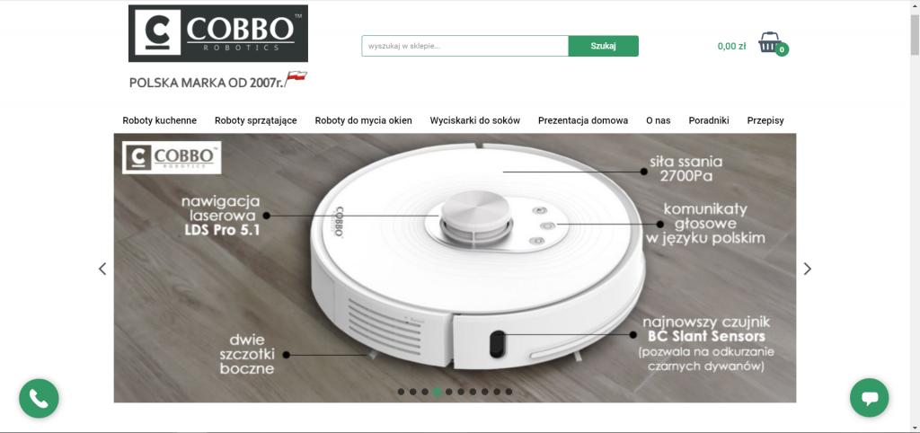 Sklep Online z polskimi robotami Cobbo